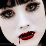 Imágenes de maquillaje de vampiro