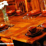 Imágenes de mesas de madera