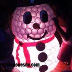 Imágenes de muñeco de nieve con vasos