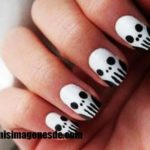 Imágenes de uñas Halloween