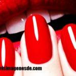 Imágenes de uñas rojas