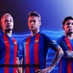 Imágenes de uniformes del Barcelona