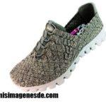 Imágenes de zapatos tejidos
